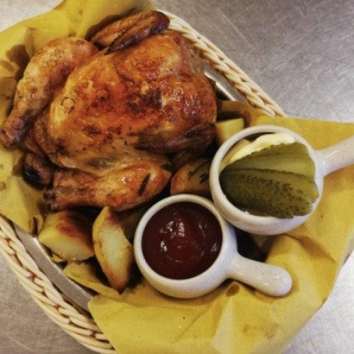 pollo al cestello