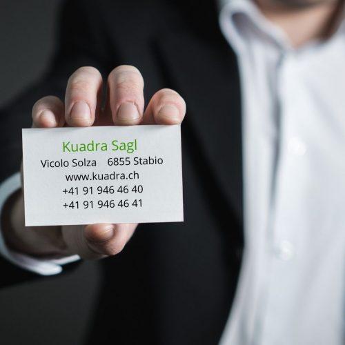 Kuadra Sagl Vicolo Solza6855 Stabio www.kuadra.ch +41 91 946 46 40 +41 91 946 46 41